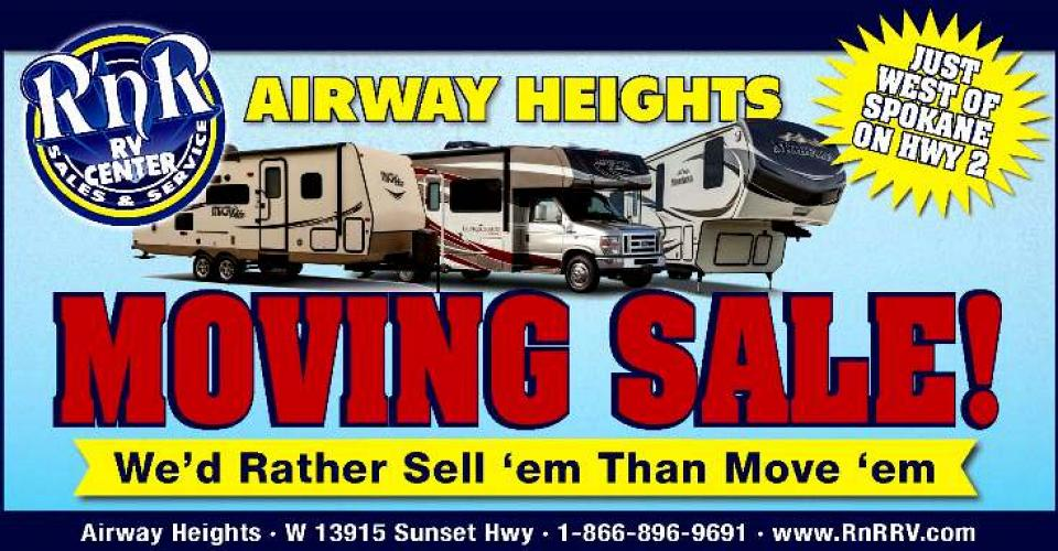 Airway Heights is Moving!