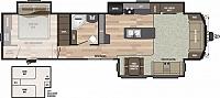 2019 Keystone Residence 401LOFT