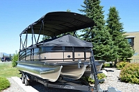 2018 FOREST RIVER BERKSHIRE 23CL STS PONTOON BOAT