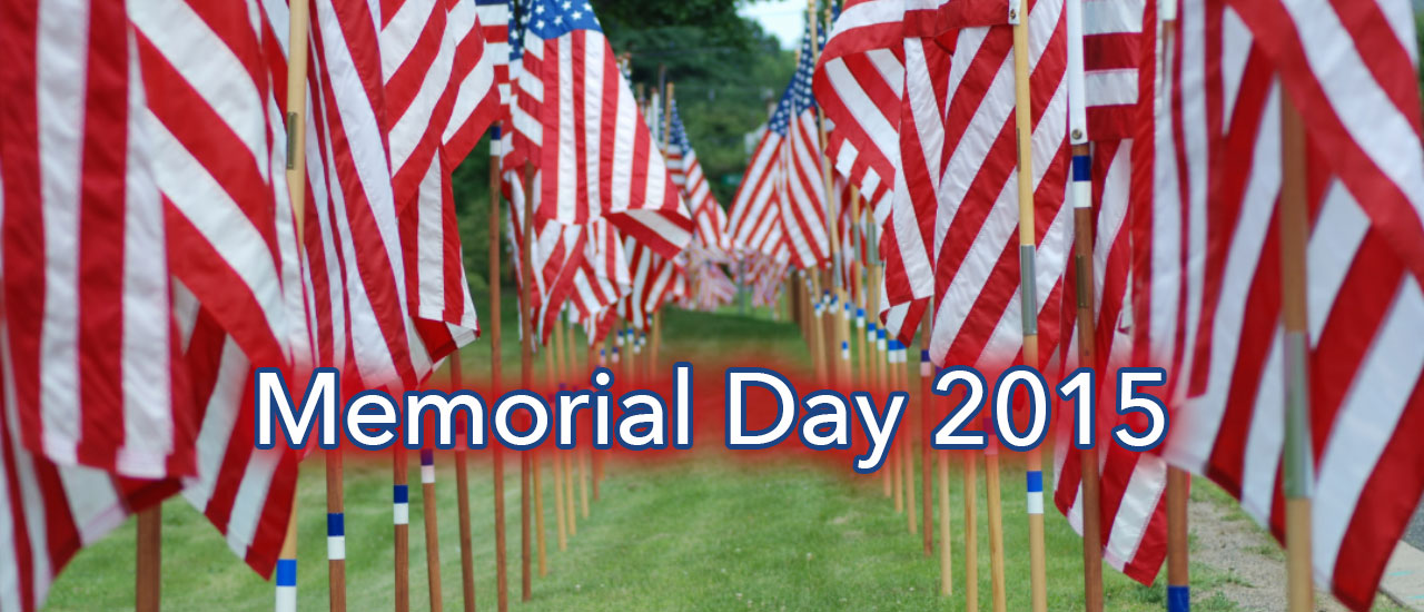 Memorial Day, the unofficial start of summer!