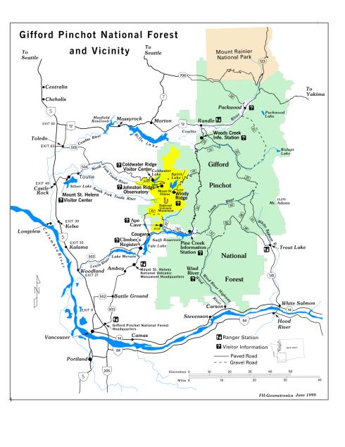 Washington Destination: Gifford Pinchot National Forest