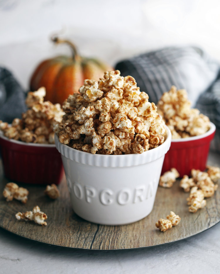 Recipe: Pumpkin Spice Butterscotch Popcorn
